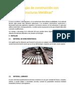 Ventajas de Estructuras Metalicas