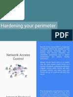 Hardening Your Perimeter