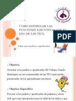 Como estimular las funciones ejecutivas con el uso.pdf