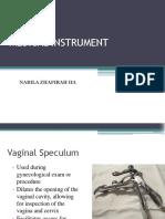 Instruments Medical Nabila