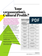 Whats Your Organizations Cultural Profile