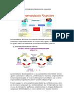 El Sistema de Intermediación Financiera