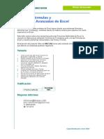 Fórmulas y Funciones Avanzadas de Excel - AVANZADO