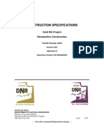 PM 7029 Gold Hill Project Construction Specifications
