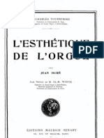 L'Esthetique de L'Orgue