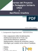 Componentes Del Proyecto Académico Pedagógico Solidario - UNAD