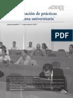 Caracterización de Paracticas de Enseñanza Universitaria