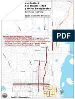 New Bedford streets subject to double-side parking ban
