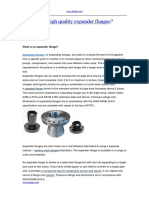 How to Get High Quality Expander Flanges