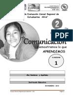 Cuadernillo 1 Comunicacion 2do_prim