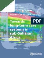 WHO LTC Series Subsaharan Africa