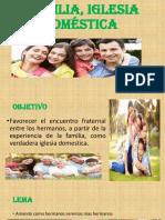 Familia Iglesia Domestica de Dios