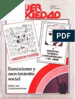 1983 - Mujer y Sociedad Año 3 n 5