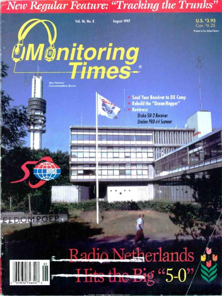 Monitoring Times 1997 08 Radio Technology Uniden Bearcat 880 Mic Wiring Free Download Diagram Schematic