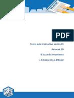 2. Texto Autoinstructivo de La Sesion 01 Acondicionando y Dibujando