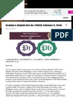 Ocampo v. Abando (G.R. No. 176830; February 11, 2014)