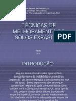 Apresentação Melhoramento de solos expansivos.ppt