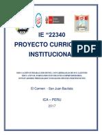 """MODELO DE  """"PROYECTO EDUCATIVO INSTITUCIONAL"""" PEI 2017.docx"""