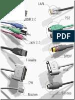 Cables de Conexión a Pc