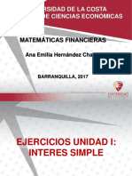 Ejercicios Para Practica (Interes Simple)