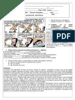 Espanhol 3ºtrim 2ª Série