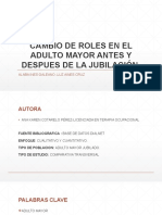 Revista Cambio de Roles en El Adulto Mayor Antes