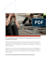 Los 10 Seguros a Favor de Deudos de Trabajador Que Fallece en Accidente de Tránsitoque Fallece en Accidente de Tránsito