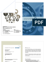 Ball Roller and Spherical Plan Bearing Catalogue 2014