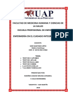 Test Capurro Apgar Ballard Fontanelas