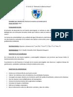 Proyectos Huerta Aromática Autorregable