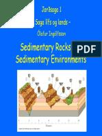 2-Sedimentary Rocks and Sedimentary Environments