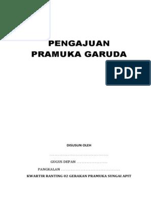 Pengajuan Pramuka Garudadocx