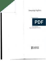 ANTROPOLOGIA Duranti, Alessandro - Antropología Linguística