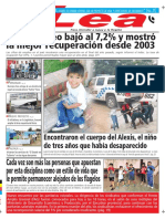 Periódico Lea Miércoles 21 de Marzo Del 2018