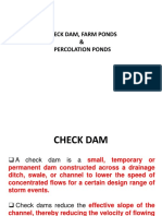 Check Dams