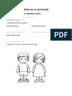 Examen Mensual de Personal Social