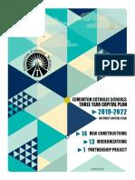 ECSD three-year capital plan for 2019-2022