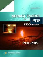 Neraca Energi Indonesia 2011 2015