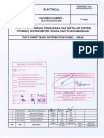SLS-75-ELE-DS-001 Data Sheet LV Switchgear and MCC - Arun, Rev. 0 - AFC