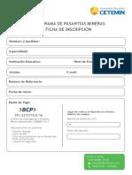 Ficha de Inscripcion cieman