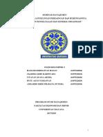 Seminar Manajemen Dinamika Lingkungan Persaingan dan Hubungannya dengan Pengelolaan dan Kinerja Organisasi