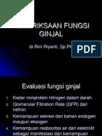 164657044-PEMERIKSAAN-FUNGSI-GINJAL.ppt
