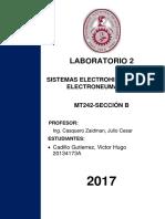 LABORATORIO 2- MT242B