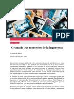 Gramsci - Tres Momentos de La Hegemonía - Juan Dal Maso