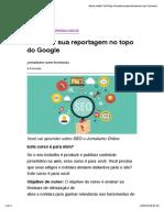 Como Ter Sua Reportagem No Topo Do Google