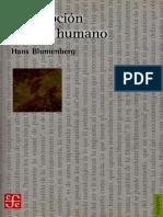 Blumenberg Hans - Descripcion Del Ser Humano(OCR y Opt)