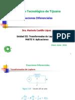 Unid III Ecuaciones Diferenciales Aplicaciones Parte v 2016