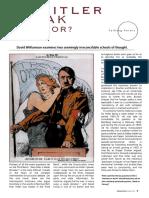 Was Hitler Weak Dictator David Williamson Examines 2 Seemingly Irreconcilable Schools of Thought