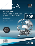 (ACCA) BPP Learning Media-ACCA P7 - Advanced Audit and Assurance (UK) - Study Text 2013-BPP Learning Media (2012)