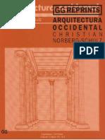 23. Arquitectura Occidental - Christian Norberg-Schulz